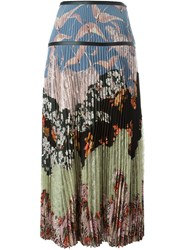 Valentino 'Garden Party' Maxi Skirt Multicolour