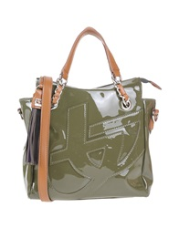 Blu Byblos Handbags Military Green