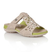 Lotus Minea Open Toe Sandals Beige