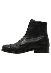 Sneaky Steve Meadows Laceup Boots Black