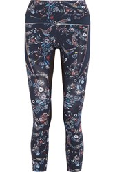 Lucas Hugh Inco Printed Stretch Legging Midnight Blue