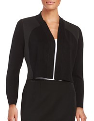 Calvin Klein Knit Open Front Cardigan Black