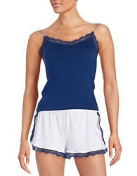 Joe's Jeans Lace Trimmed Camisole Blue