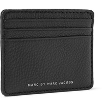 Marc By Marc Jacobs Classic Full Grain Leather Cardholder Black