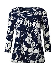 Grace Made In Britain Tunic Top Navy