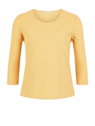 Eastex Ochre Pique Top Yellow