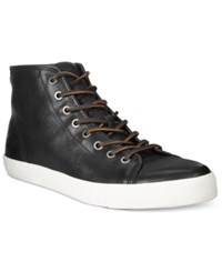 Frye Men's Brett High Top Sneakers Men's Shoes Charcoal