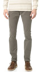 Scotch And Soda Slim Fit Garment Dyed Chinos Charcoal