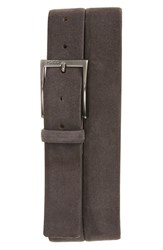 Boss Men's 'Gabello' Belt Dark Grey