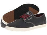 Emerica The Wino Grey Grey Cotton Twill Men's Skate Shoes Gray