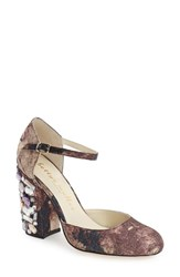 Bettye Muller Women's 'Bejeweled' Pump 3 1 2 Heel