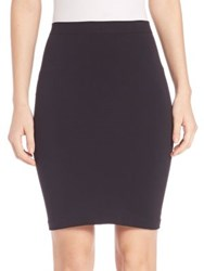 Helmut Lang Seamless Tube Skirt Black