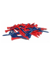 Team Golf Kansas Jayhawks 50 Pack Golf Tees Team Color