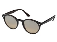 Ray Ban Rb2180 51Mm Opal Brown Frame Brown Mirror Silver Gradient Lens Fashion Sunglasses