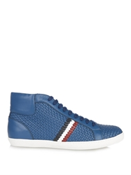 Moncler Mont Charles Leather High Tops