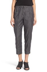 Eileen Fisher Women's Lightweight Denim Crop Pants