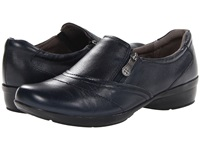Naturalizer Clarissa Classic Navy Leather Women's Flat Shoes