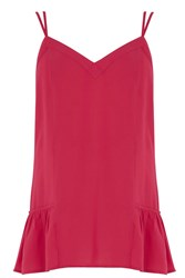 Warehouse Double Strap Cami Pink