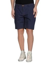 Red Soul Bermudas Dark Blue