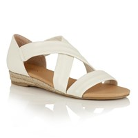 Lotus Arielle Strappy Sandals White