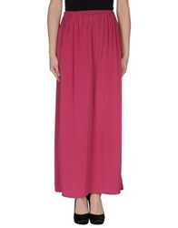 Space Style Concept Long Skirts Purple