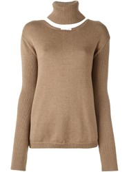 Societe Anonyme 'Cape' Pullover Nude And Neutrals