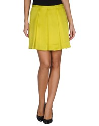 L'autre Chose L' Autre Chose Skirts Mini Skirts Women Acid Green