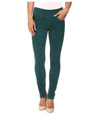 Jag Jeans Nora Pull On Skinny 18 Wale Corduroy Shade Teal Women's Casual Pants Green