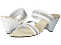 Onex Stunning White Silver Women's Wedge Shoes