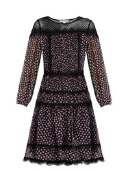 Diane Von Furstenberg Jamie Dress Navy Multi