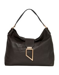 Foley Corinna Valerie Leather Hobo Bag Luna Smoke