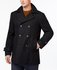 Tommy Hilfiger Brady Slim Fit Overcoat Charcoal