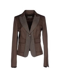 Sportmax Code Blazers Dark Brown