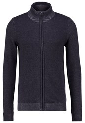 Tom Tailor Cardigan Knitted Navy Blue