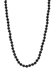 Lauren Ralph Lauren Rope Necklace Black