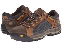 Caterpillar Convex Lo Steel Toe Dark Beige Men's Work Boots Brown
