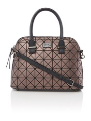 Paul's Boutique The Bramcote Collection Metalic Dome Bag Metallic
