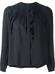 Isabel Marant Pleated Shirt Black