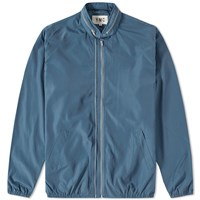 Ymc Perforated Double Zip Jacket Blue