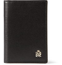 Alfred Dunhill Belgrave Textured Leather Cardholder Black
