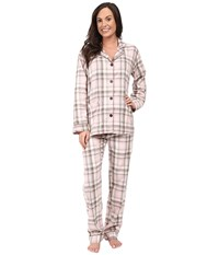 Pj Salvage Coco Chic Plaid Set Pink Women's Pajama Sets