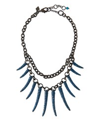 Sequin Athena Pave Statement Necklace Women's