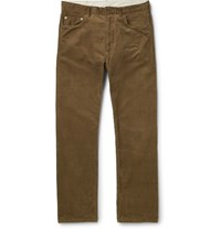 Engineered Garments Cotton Corduroy Trousers Brown