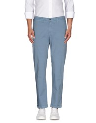 Re Hash Trousers Casual Trousers Men Sky Blue