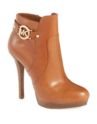 Michael Michael Kors Wyatt Stiletto Boots Brown