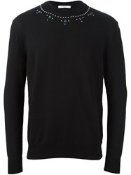 Givenchy Embellished Sweater Black