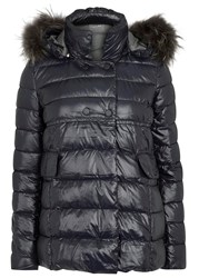 Duvetica Miriel Navy Quilted Shell Jacket