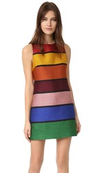 Alice Olivia Clyde Shift Dress Multi