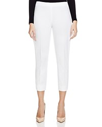 Elie Tahari Juliette Cropped Pants White