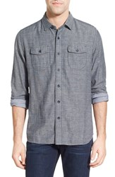 Grayers Men's 'Capel' Regular Fit Double Cloth Herringbone Sport Shirt